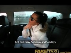 faketaxi hawt juvenile czech cutie sucks wang to