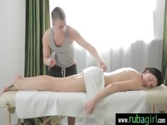 astonishing sexy gal acquires a carnal massage