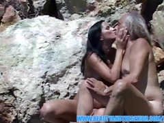 marvelous angel getting screwed outdoors