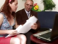 ejaculation lesson from old teacher