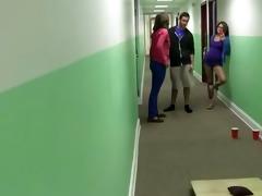 youthful student fucking cheerleaders