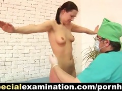 young babe acquires her pussy examined by