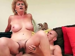 naughty old wench receives fucked coarse