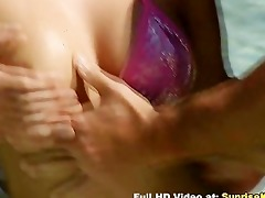 fantastic beach double penetration sex with hawt