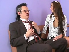 agreeable anal invasion with teacher