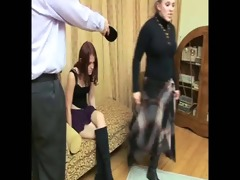 daughter+girlfriend are spanked 15