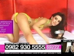 old ella jolie on babestation