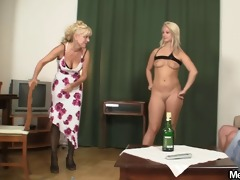 nasty gf and his parents having sex