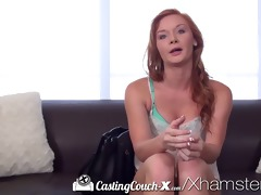 hd - castingcouch-x juvenile redhead wishes to be