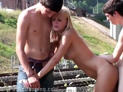 juvenile public legal age teenager fuckfest part 1
