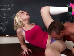 fisting with slutty juvenile golden-haired