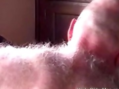 daddy bear drilled by sexy black dude