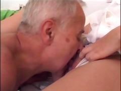 mature chap bonks youthful nurse