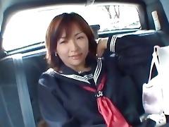 juvenile oriental skank masturbating