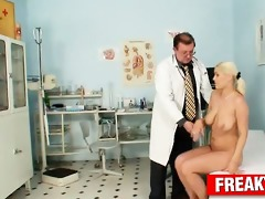 czech golden-haired wench alexa cheeky hazed by
