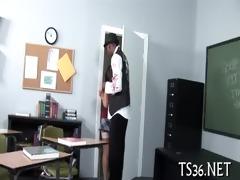 obscene school detention