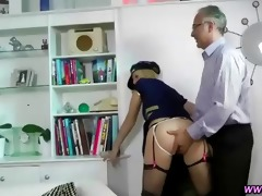old chap copulates nylons playgirl