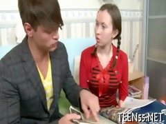 timid asian legal age teenager acquires screwed
