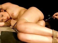 young bondman angel receives bondaged