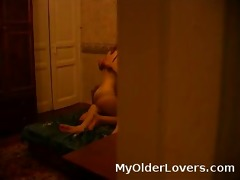 voyeur view of old youthful sex
