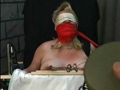old fellow tortures fat blonds big titties