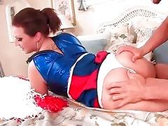 breasty juvenile cheerleader engulfing weenie