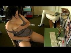 masturbation whilst watching stube.com