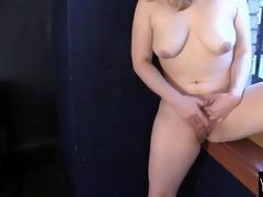 pleasant lili masturbating hard