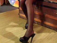 smokin hot in stockings - scene 112 - maxine x