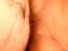golden-haired playgirl excellent creampie st time