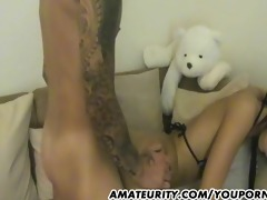 amateur girlfriend anal with facial spunk fountain