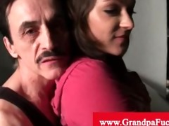 roxy love enjoys engulfing old dude weenie