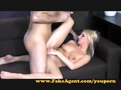 fakeagent sexy enjoyment with youthful blond