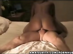 busty non-professional girlfriend homemade anal