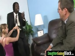 youthful daughter with fine gazoo screwed by a