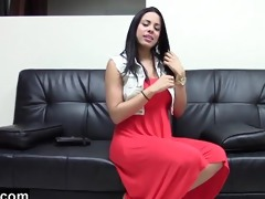 cuban sweetheart wishes to be a pornstar