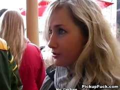 juvenile blonde drilled from mcdonalds on the
