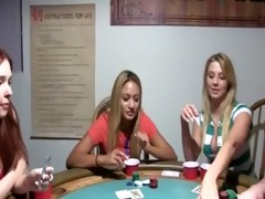 youthful teenagers fucking on poker night