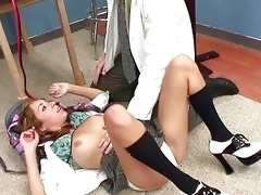 youthful babe acquires nailed