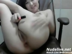 cam masturbation - super sexy oriental legal age