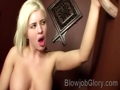 large boobed blondie sucks her priests pecker