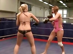 juvenile european gals fighting