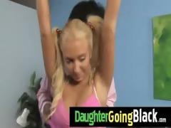 my daughter takes a real dark shlong 26