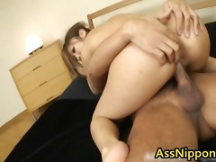 youthful oriental sweetheart acquires the one and