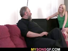 daddy punishes his sons gf
