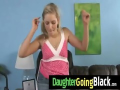 my daughter takes a real darksome pecker 78