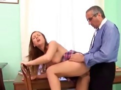 old guy and youthful gal - 5