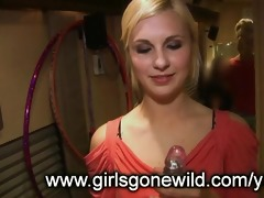 beauties gone wild: sexy blond with toy