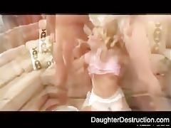 brutal legal age teenager daughter humiliate