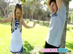 tiny real teenager receives drilled